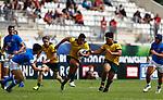 Semisi Tupou, Italy 15 v 44 Australia Stade D'Honneur du Parc des Sports et de L'Amitie, Narbonne France. World Rugby U20 Championship 2018. Photo Martin Seras Lima