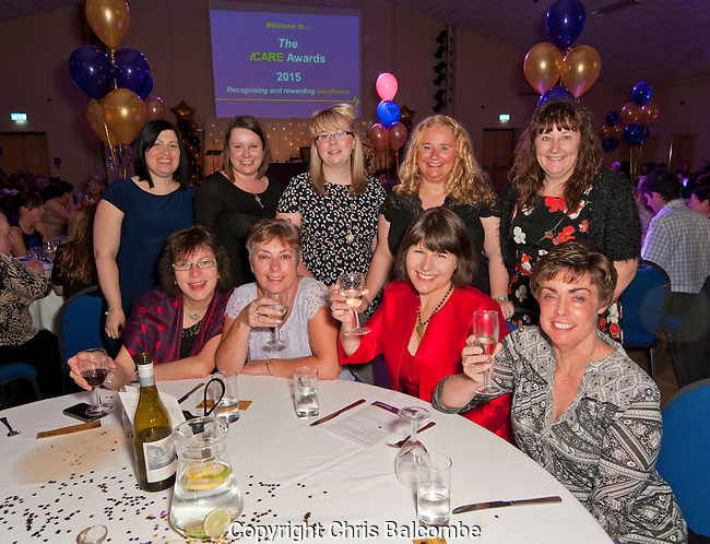Yeovil District Hospital iCare Awards night 2015<br /> <br /> <br /> Pic:  Chris Balcombe/Free for use in all media
