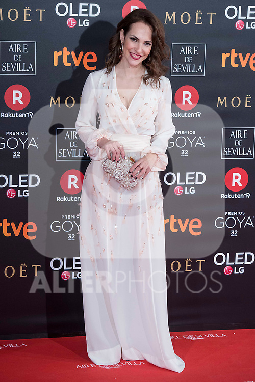 Paula Ortiz attends red carpet of Goya Cinema Awards 2018 at Madrid Marriott Auditorium in Madrid , Spain. February 03, 2018. (ALTERPHOTOS/Borja B.Hojas)
