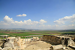 Tel Yokneam overlooking Jezreel Valley