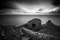 The Battery on the west coast of Lundy Island, Bristol Channel