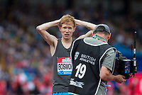 Tom BOSWORTH of GBR wins the Walk (1000m) vs Run (1400m) race in a time of 3.28.28 during the Muller Grand Prix Birmingham Athletics at Alexandra Stadium, Birmingham, England on 20 August 2017. Photo by Andy Rowland.