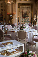 Europe/Monaco/Monte Carlo : Salle du restaurant: Louis XV / Alain Ducasse à l'Hôtel de Paris [Non destiné à un usage publicitaire - Not intended for an advertising use]