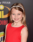 HOLLYWOOD, CA - JUNE 05: Caitlin Reagan attends the premiere of Disney and Pixar's 'Incredibles 2' at the El Capitan Theatre on June 5, 2018 in Los Angeles, California.