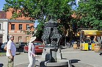Brunnen in Kaunas, Litauen, Europa