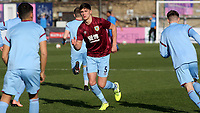 Bobby Thomas of Burnley U23's warms up ahead of kick-off during Crystal Palace Under-23 vs Burnley Under-23, Premier League Cup Football at Champion Hill Stadium on 6th February 2020