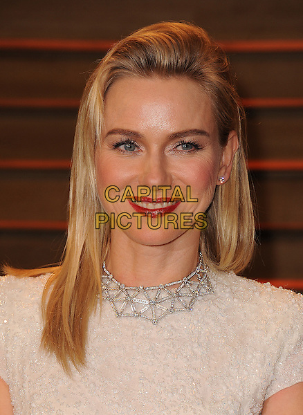 WEST HOLLYWOOD, CA - MARCH 2: Naomi Watts arrives at the 2014 Vanity Fair Oscar Party in West Hollywood, California on March 2, 2014.  <br /> CAP/MPI/MPI213<br /> &copy;MPI213/MediaPunch/Capital Pictures
