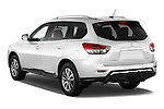 Car pictures of rear three quarter view of a 2015 Nissan Pathfinder Sl 2Wd 5 Door Suv 2WD Angular Rear