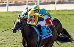 November 1, 2019: Four Wheel Drive, ridden by Irad Ortiz Jr., wins the Breeders' Cup Juvenile Turf Sprint on Breeders' Cup World Championship Friday at Santa Anita Park on November 1, 2019: in Arcadia, California. Kaz Ishida/Eclipse Sportswire/CSM