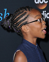 "10 June 2016 - Hollywood. Marsai Martin. Arrivals forFYC Event For ABC's ""Black-ish"" held at Dave & Busters. Photo Credit: Birdie Thompson/AdMedia"