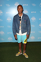 LOS ANGELES, CA - AUGUST 10: Pharrell Williams, at the Netflix Series Premiere Of True And The Rainbow Kingdom at the Pacific Theatres at The Grove in Los Angeles, California on August 10, 2017. Credit: Faye Sadou/MediaPunch