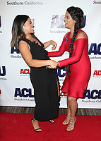 BEVERLY HILLS, CA - DECEMBER 3: Gina Rodriguez, Lilly Singh, at ACLU SoCal's Annual Bill Of Rights Dinner at the Beverly Wilshire Four Seasons Hotel in Beverly Hills, California on December 3, 2017. Credit: Faye Sadou/MediaPunch /NortePhoto.com NORTEPHOTOMEXICO