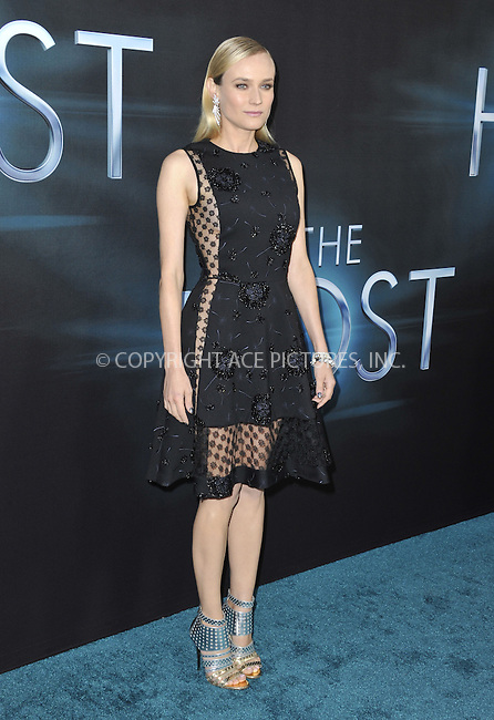 WWW.ACEPIXS.COM....March 19 2013, LA....Diane Kruger arriving at the 'The Host' Los Angeles premiere at the ArcLight Cinemas Cinerama Dome on March 19, 2013 in Hollywood, California. ....By Line: Peter West/ACE Pictures......ACE Pictures, Inc...tel: 646 769 0430..Email: info@acepixs.com..www.acepixs.com