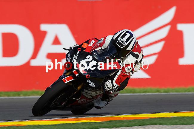 FIM CEV REPSOL Comunitat Valenciana during the moto spanish championship in Cheste, Valencia<br /> FP Moto3<br /> hugo casadesus<br /> PHOTOCALL3000