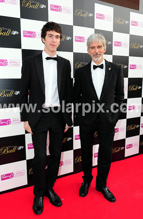 **ALL ROUND PICTURES FROM SOLARPIX.COM**                                             **WORLDWIDE SYNDICATION RIGHTS**                                                                                  Caption:  Arrivals at the Grand Prix Ball 2011, The Hurlingham Club, London, UK. 7 July 2011                                                                            This pic: Damon Hill                                                                                      JOB REF: 13678 MZF       DATE: 07_07_2011                                                           **MUST CREDIT SOLARPIX.COM OR DOUBLE FEE WILL BE CHARGED**                                                                      **MUST AGREE FEE BEFORE ONLINE USAGE**                               **CALL US ON: +34 952 811 768 or LOW RATE FROM UK 0844 617 7637**