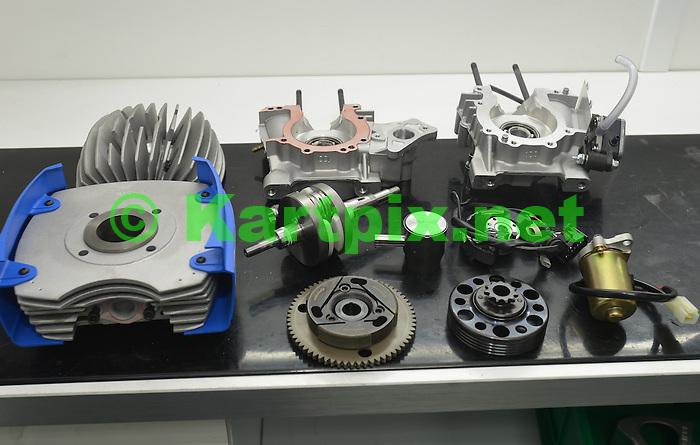 Striping Engine at JM Racing