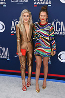 LAS VEGAS, NV - APRIL 7: Maddie &amp; Tae attend the 54th Annual ACM Awards at the Grand Garden Arena on April 7, 2019 in Las Vegas, Nevada. <br /> CAP/MPIIS<br /> &copy;MPIIS/Capital Pictures
