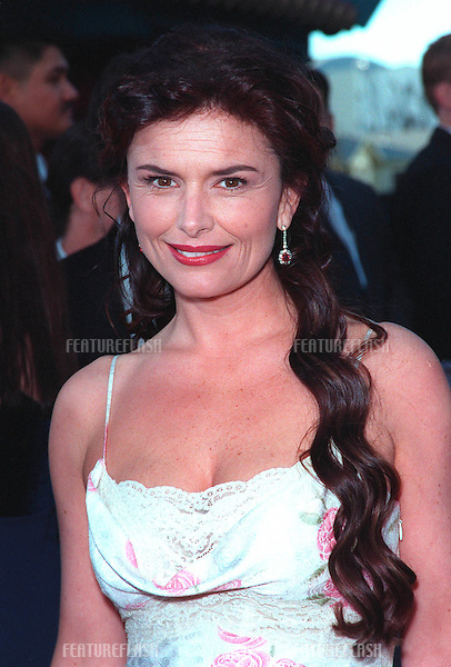 "01FEB99:  ""Touched By An Angel"" star ROMA DOWNEY at the 1st Annual TV Guide Awards in Los Angeles. .© Paul Smith / Featureflash"