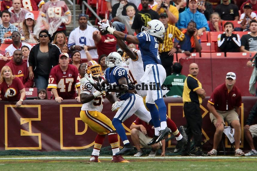 WR Kris Adams (Colts) faengt den Ball