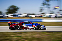 #67 FORD CHIP GANASSI RACING (USA) FORD GT FORD GTLM RYAN BRISCOE (AUS) RICHARD WESTBROOK (GBR) SCOTT DIXON (NZL)