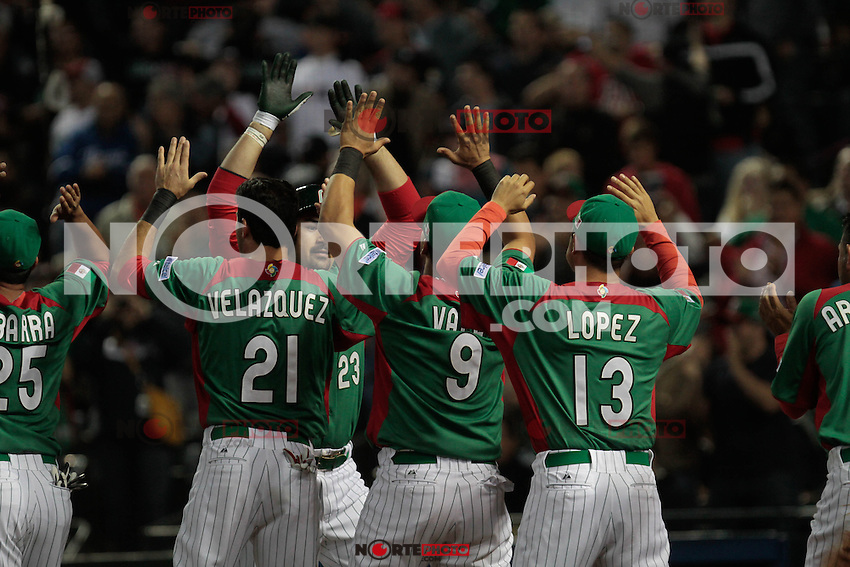 Mexico vs USA, Cl&aacute;sico Mundial 2013.<br /> Foto: nortePhoto.com
