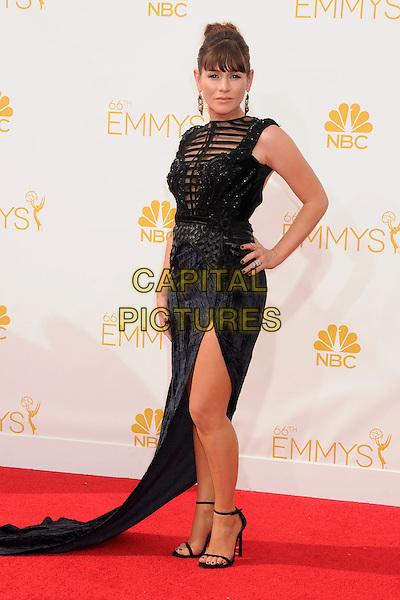 25 August 2014 - Los Angeles, California - Yael Stone. 66th Annual Primetime Emmy Awards - Arrivals held at Nokia Theatre LA Live. <br /> CAP/ADM/BP<br /> &copy;BP/ADM/Capital Pictures