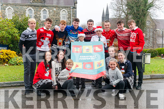 Launch of 'A Gift of Niall' Christmas Jumper Fundraiser in aid of Cork University Hospital initiative by students from St Brendan's College, Killarney Community College, Presentation Monastery and Holy Cross Mercy School.