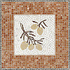 Custom mosaic Olive Sign Ferry Building San Francisco, CA