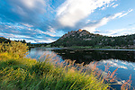 sunrise at Lily Lake in Rocky Mountain National Park, Colorado, USA