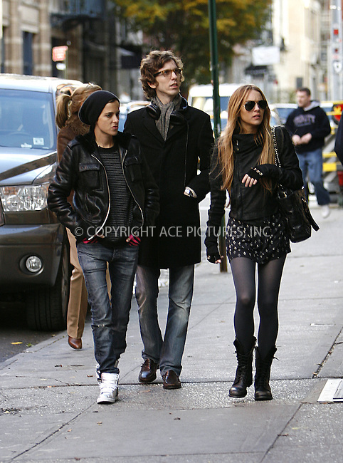 WWW.ACEPIXS.COM . . . . .  ....October 29 2008, New York City....Actress Lindsay Lohan and her girlfriend Samantha Ronson went walking around Soho and then amazingly took a subway uptown on October 29 2008 in New York City....Please byline: NANCY RIVERA- ACE PICTURES.... *** ***..Ace Pictures, Inc:  ..tel: (646) 769 0430..e-mail: info@acepixs.com..web: http://www.acepixs.com