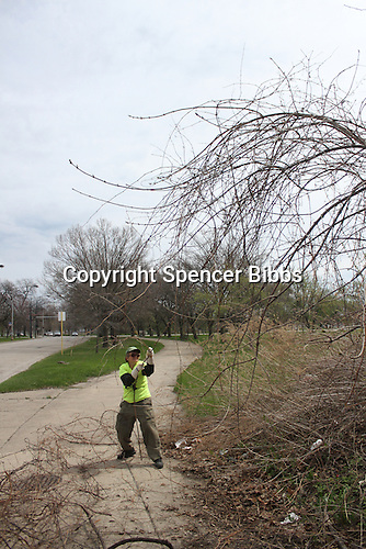 Hyde Park residents and Jackson Park Advisory Council members, Loise Mcurry and Frances Vandervoort spent Sunday afternoon cleaning out the Midway by the tracks at 59th and Stony Island where squatters had left various items and people had dumped items like old mattresses.