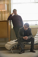 SUCCESSION (season 1)<br /> ALAN RUCK,  KIERAN CULKIN<br /> *Filmstill - Editorial Use Only*<br /> CAP/FB<br /> Image supplied by Capital Pictures