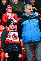 Fleetwood Town fans fans enjoy the pre-match atmosphere  <br /> <br /> Photographer Richard Martin-Roberts/CameraSport<br /> <br /> The EFL Sky Bet League One - Fleetwood Town v Coventry City - Tuesday 27th November 2018 - Highbury Stadium - Fleetwood<br /> <br /> World Copyright &not;&copy; 2018 CameraSport. All rights reserved. 43 Linden Ave. Countesthorpe. Leicester. England. LE8 5PG - Tel: +44 (0) 116 277 4147 - admin@camerasport.com - www.camerasport.com