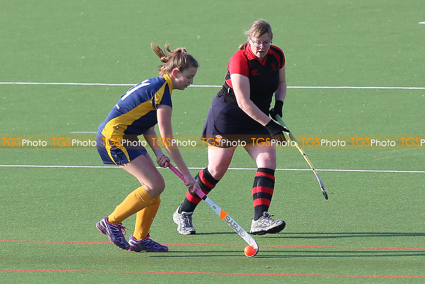 Havering HC Ladies 4th XI vs Romford HC Ladies 2nd XI, Essex Women's League Field Hockey at Campion School on 19th November 2016
