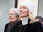 """Pic shows:  Vanessa Redgrave and Joely Richardson<br /> <br /> Funeral of Roger Lloyd-Pack - """"Trigger"""" from Only Fools and Horses.<br /> <br /> Mourners arriving at the service at Actors Church in Covent Garden -<br /> <br /> <br /> <br /> <br /> Pic by Gavin Rodgers/Pixel 8000 Ltd"""