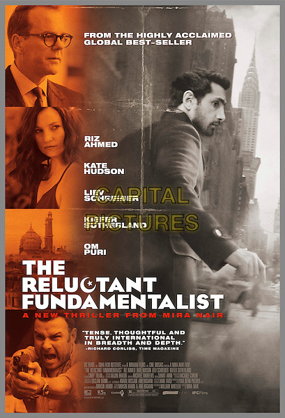 POSTER ART<br /> in The Reluctant Fundamentalist (2012) <br /> *Filmstill - Editorial Use Only*<br /> CAP/FB<br /> Supplied by Capital Pictures