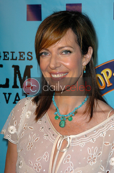 """Allison Janney<br /> at the Los Angeles Premiere of """"Our Verry Own"""", DGA Theatre, Los Angeles, CA 06-22-05<br /> Chris Wolf/DailyCeleb.com 818-249-4998"""