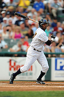 July 15, 2009:  Eduardo Nunez of the Trenton Thunder during the 2009 Eastern League All-Star game at Mercer County Waterfront Park in Trenton, NJ.  Photo By David Schofield/Four Seam Images