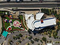 Museo de Arte de Sonora, MUSAS. Estacionamiento. Parque <br /> Paisaje urbano, paisaje de la ciudad de Hermosillo, Sonora, Mexico.<br /> Urban landscape, landscape of the city of Hermosillo, Sonora, Mexico.<br /> (Photo: Luis Gutierrez /NortePhoto)