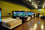 The mattress showroom at the new Gallery Furniture location at 2411 Post Oak  Wednesday March 11, 2009. (Dave Rossman/For the Chronicle)