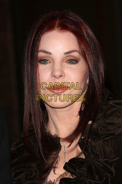 "PRISCILLA PRESLEY.Launches her bed linen range ""The Priscilla Presley Collection"" at the bed linen department, Harrods, London, UK. .April 5th, 2006 .Ref: BEL.headshot portrait.www.capitalpictures.com.sales@capitalpictures.com.© Capital Pictures."