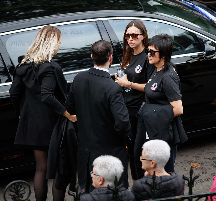 25.09.2018 Funeral service for Fernando Ricksen: Veronika Ricksen