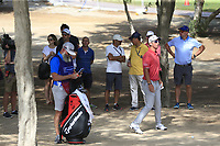 Lucas Herbert (AUS) in the rough on the 3rd during Round 3 of the Omega Dubai Desert Classic, Emirates Golf Club, Dubai,  United Arab Emirates. 26/01/2019<br /> Picture: Golffile | Thos Caffrey<br /> <br /> <br /> All photo usage must carry mandatory copyright credit (© Golffile | Thos Caffrey)