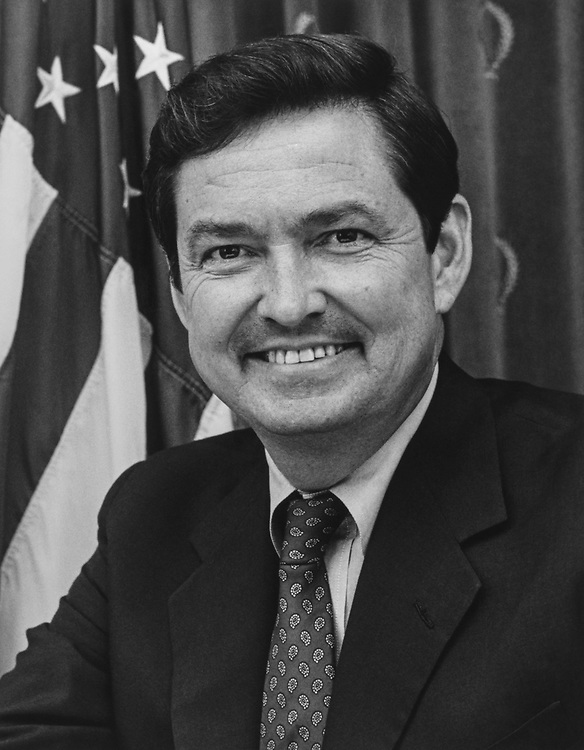 Portrait of Rep. E. Clay Shaw, R-Fla., in 1985. (Photo by CQ Roll Call via Getty Images)