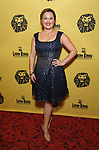 Ashley Brown attends the 20th Anniversary Performance of 'The Lion King' on Broadway at The Minskoff Theatre on November e, 2017 in New York City.