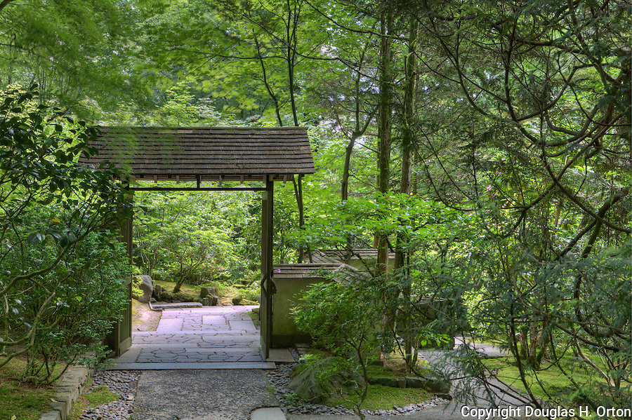 Northwest Garden, Garden Gate, Portland, Oregon Japanese GardenThe Japanese  Garden In Portland Is