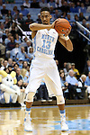 14 November 2014: North Carolina's J.P. Tokoto. The University of North Carolina Tar Heels played the North Carolina Central University Eagles in an NCAA Division I Men's basketball game at the Dean E. Smith Center in Chapel Hill, North Carolina. UNC won the game 76-60.