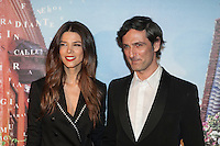 Colombian Juana Acosta and Ernesto Alterio pose during Juana Acosta tribute event in Madrid, Spain. January 27, 2015. (ALTERPHOTOS/Victor Blanco) /nortephoto.com<br />