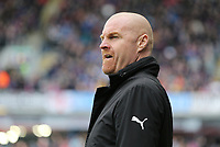 Burnley manager Sean Dyche <br /> <br /> Photographer Rich Linley/CameraSport<br /> <br /> The Premier League - Saturday 13th April 2019 - Burnley v Cardiff City - Turf Moor - Burnley<br /> <br /> World Copyright © 2019 CameraSport. All rights reserved. 43 Linden Ave. Countesthorpe. Leicester. England. LE8 5PG - Tel: +44 (0) 116 277 4147 - admin@camerasport.com - www.camerasport.com