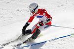 Kohei Takahashi (JPN),<br /> MARCH 17, 2018 - Alpine Skiing : <br /> Men's Slalom Standing Run1 <br /> at Jeongseon Alpine Centre  <br /> during the PyeongChang 2018 Paralympics Winter Games in Pyeongchang, South Korea. <br /> (Photo by Sho Tamura/AFLO SPORT)